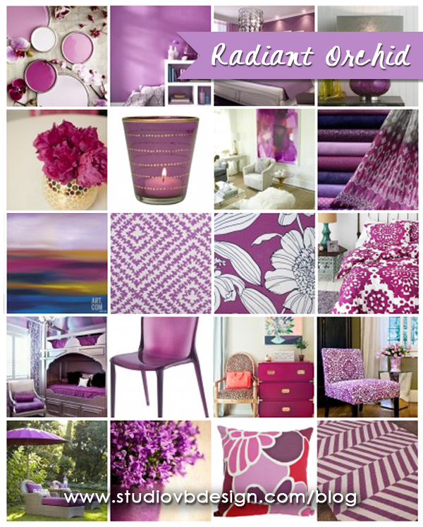Radiant Orchid gallery of images.