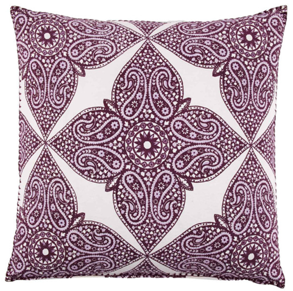 Pillow in orchid.