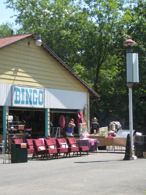 The bingo building.