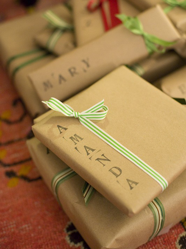 Simple wrapping!
