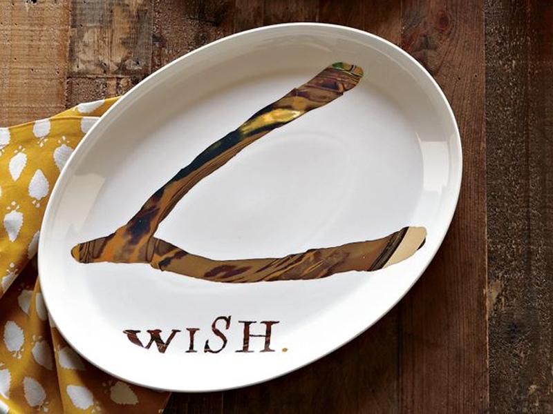 Wishbone servewear.