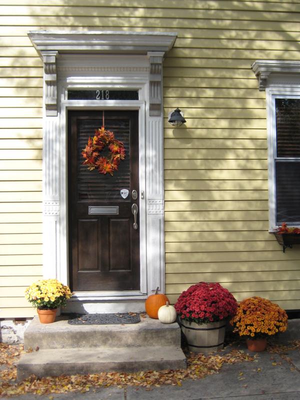 My front door.