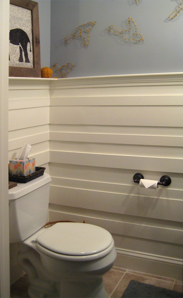 Powder room left side