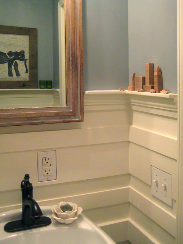 Powder room right side.
