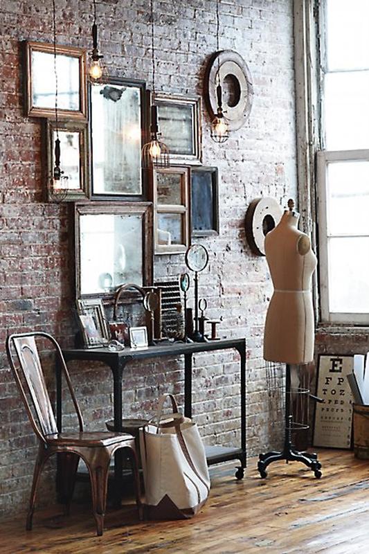 urban vintage interior