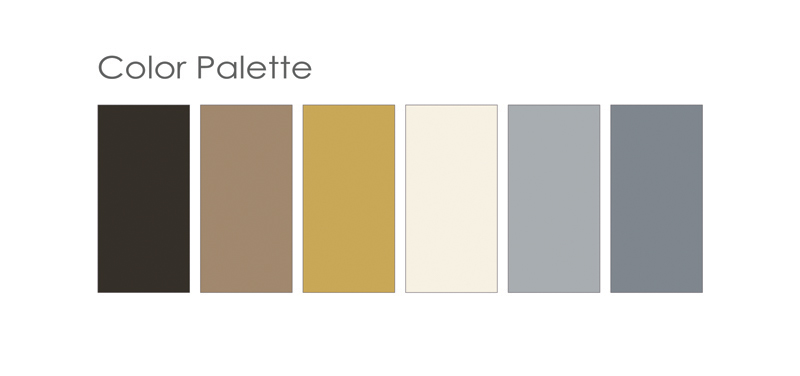 Our color palette.