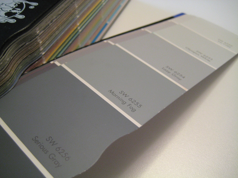 Paint fan swatch.