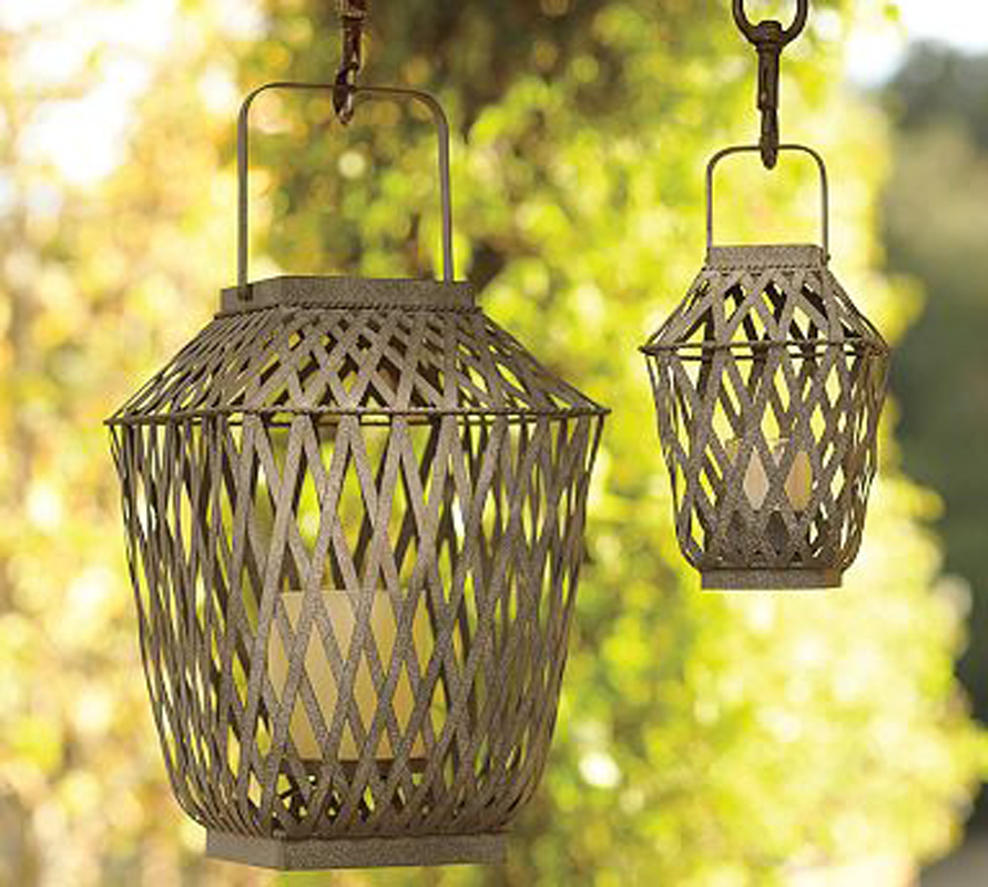 Outdoor lanterns.