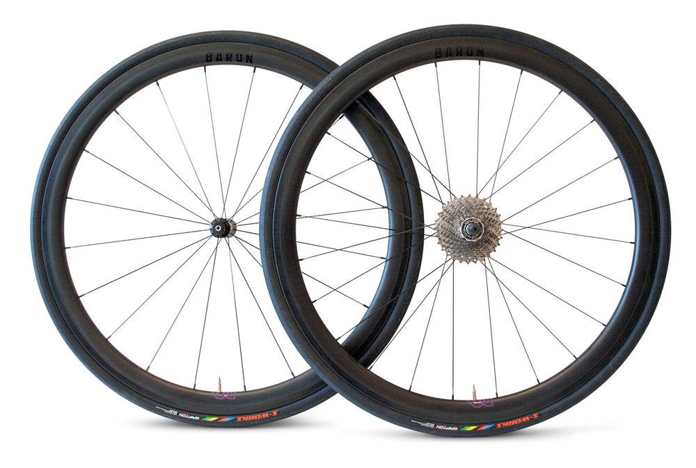 Baron cycling Carbon clincher wheels 38mm