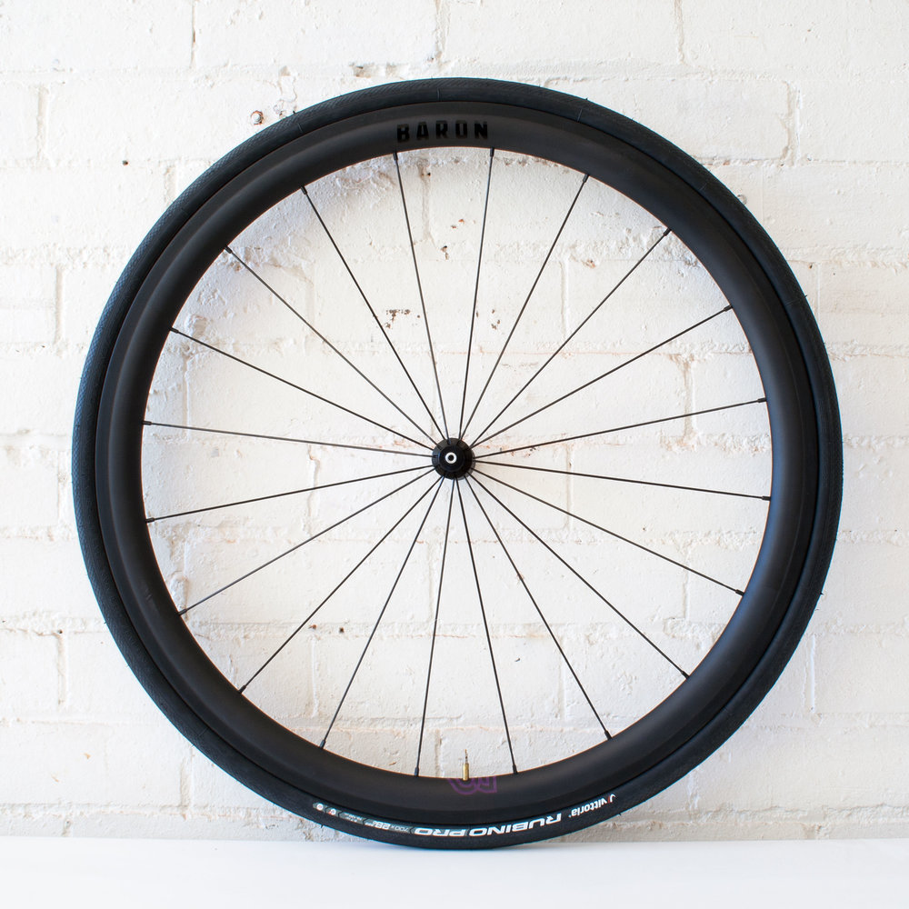 Baron 4.4 38mm carbon clincher wheel