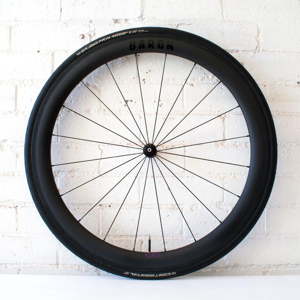 Baron 4.5 50mm carbon clincher wheel
