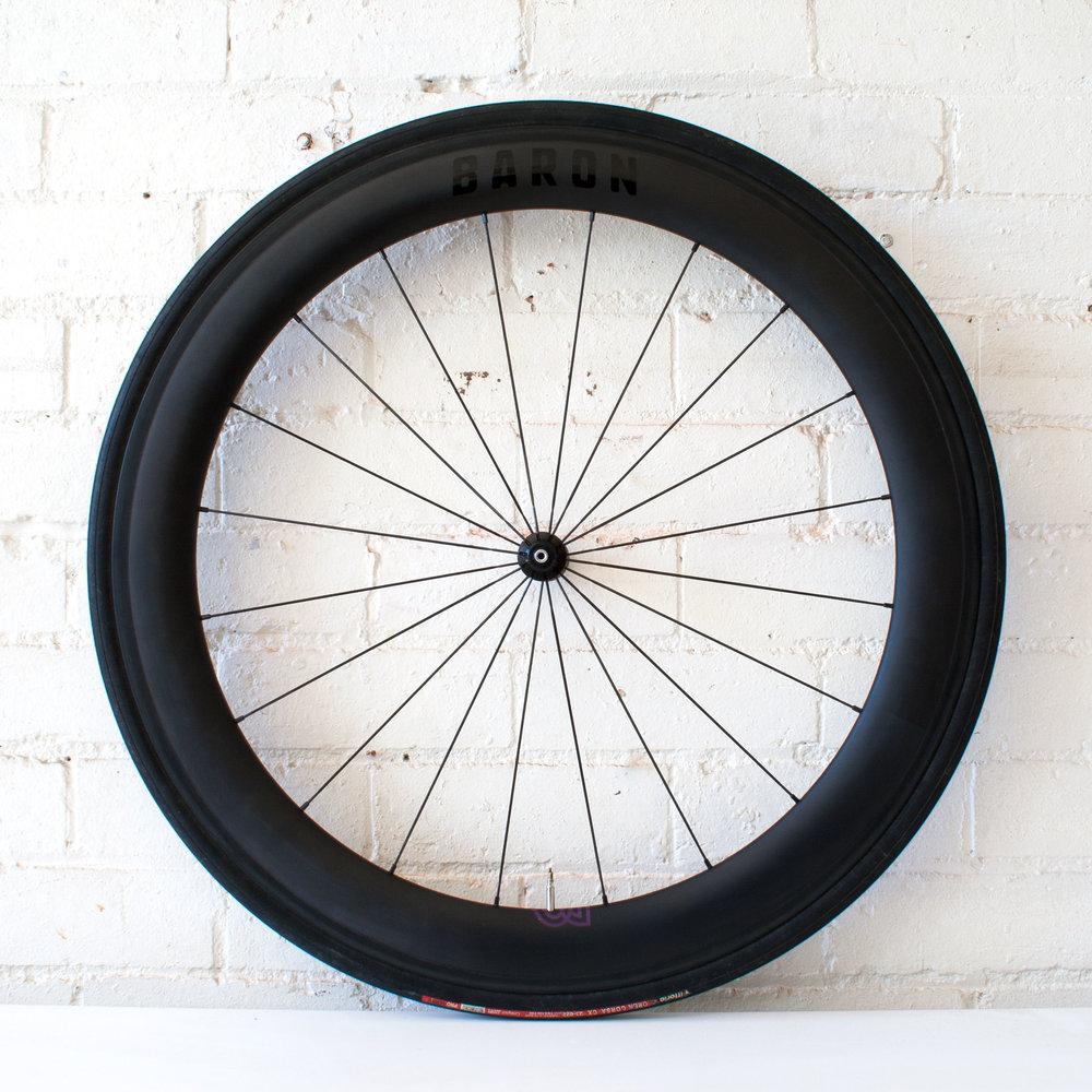 Baron 5.6 60mm carbon clincher wheel