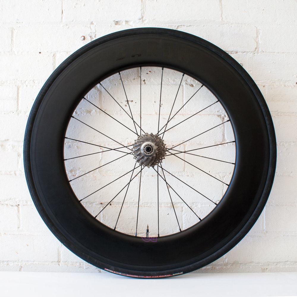 Baron 6.9 88mm carbon clincher wheel