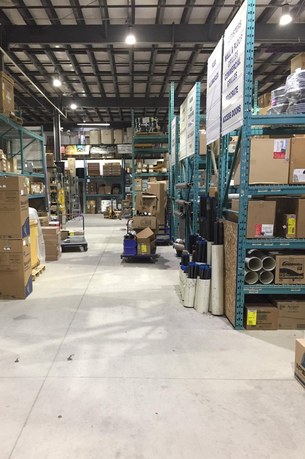 HVAC Warehouse, BC