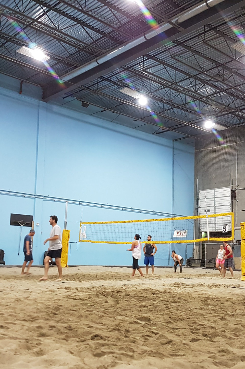 Indoor Volleyball Courts, BC