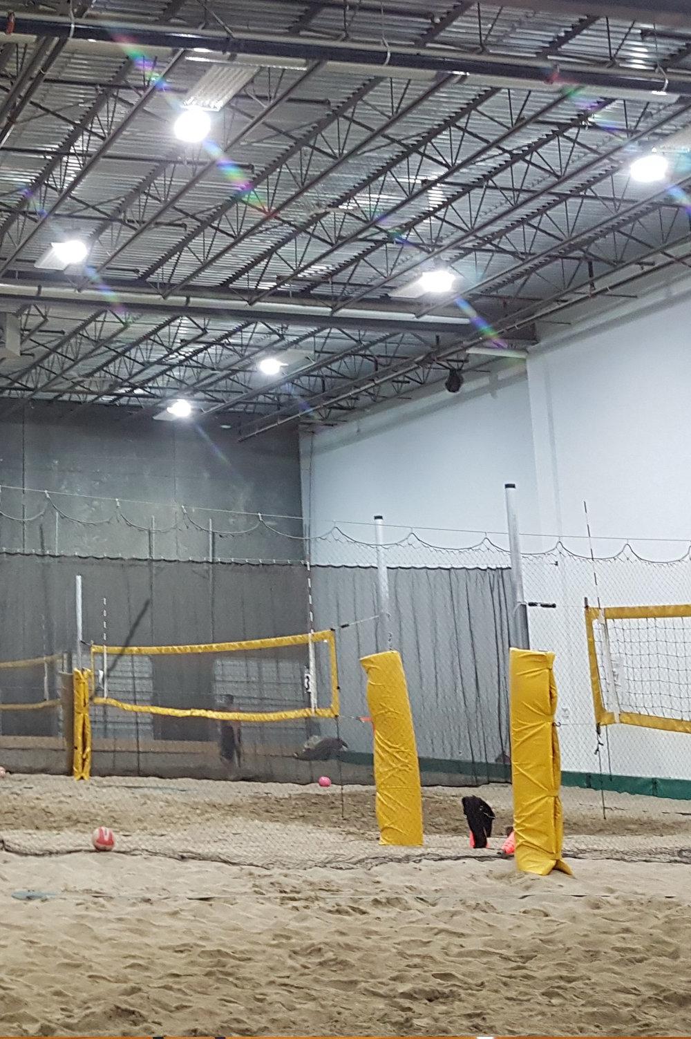 Indoor Volleyball Court, BC