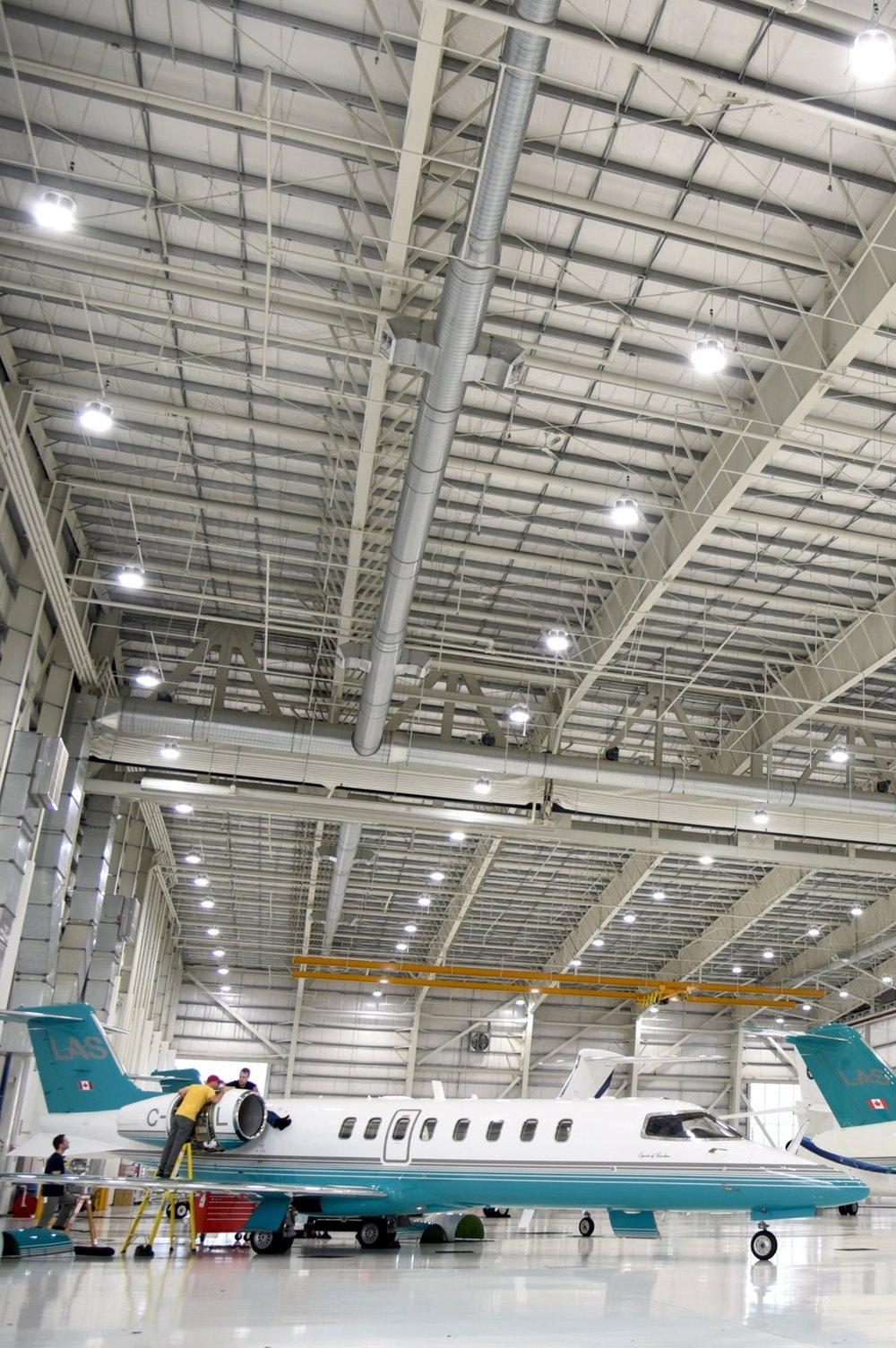 Airplane Hanger, BC