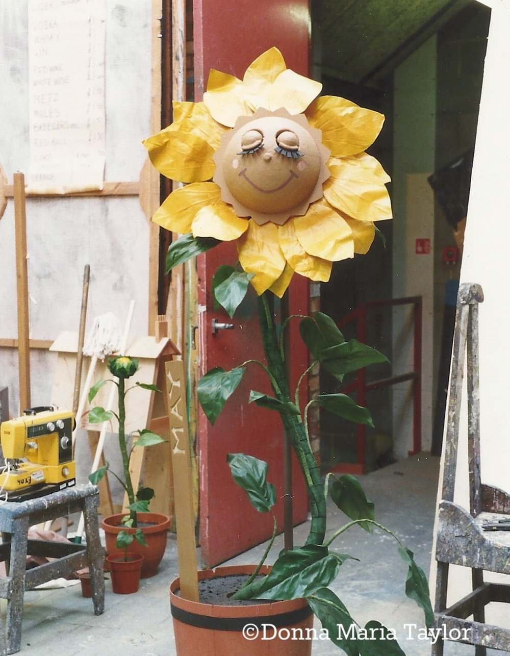 'Salman's Sunflower' - co-designed by Donna Maria Taylor and Tina Firkins.