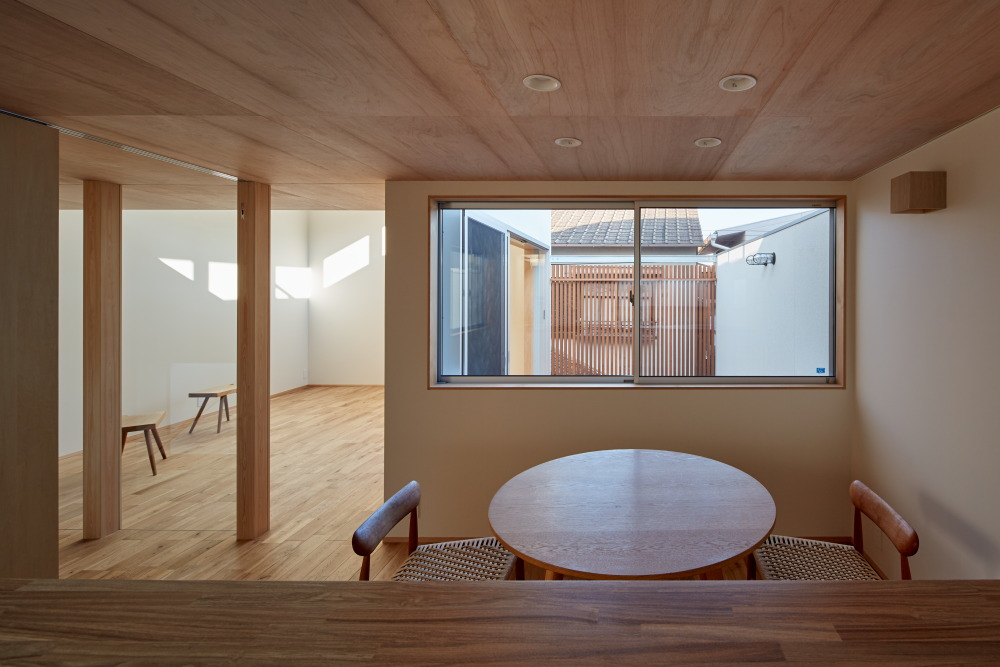 House of Takamatsu Bancho designed by Tenk