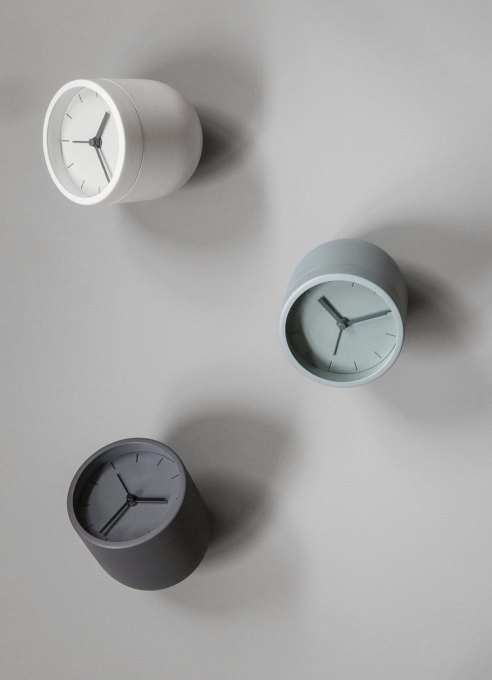 Tumbler Alarm Clock designed by Norm Architects and Menu