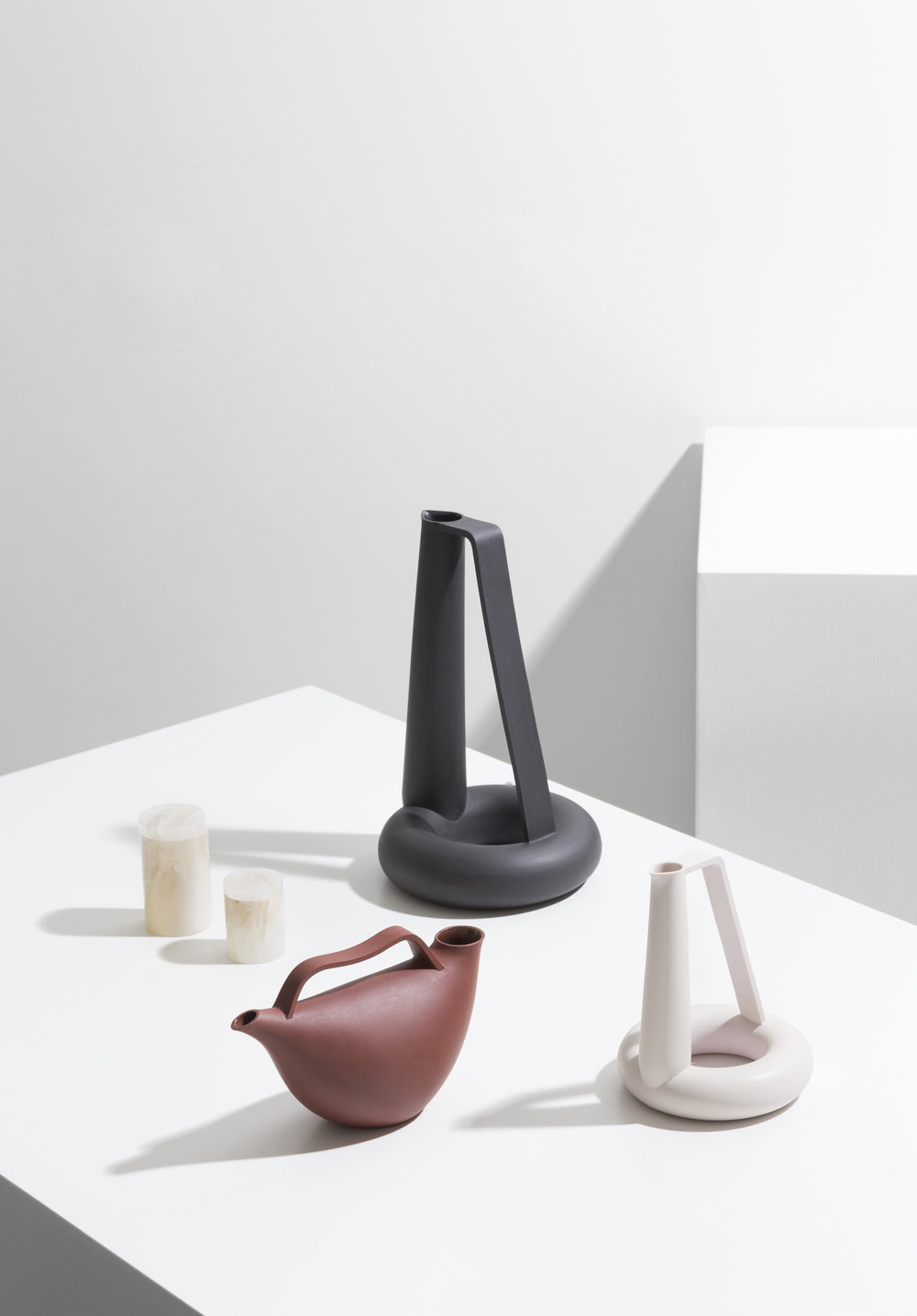 Vessels designed by Formafantasma