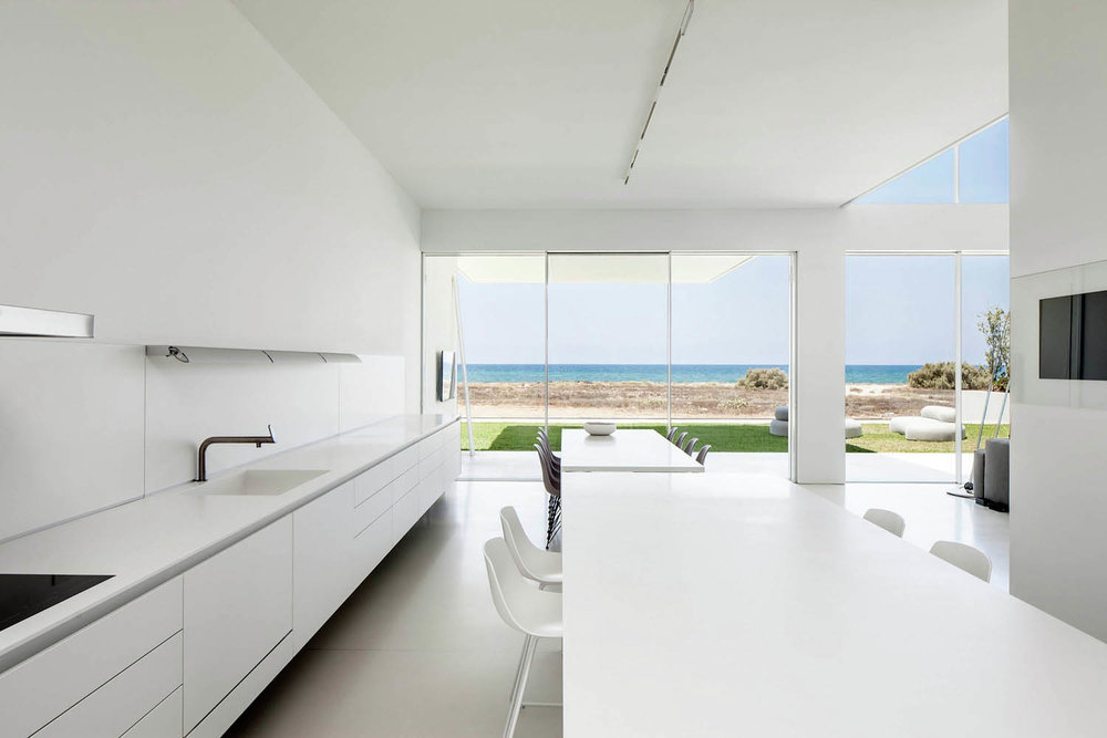 A House by The Sea designed by Pitsou Kedem Architects