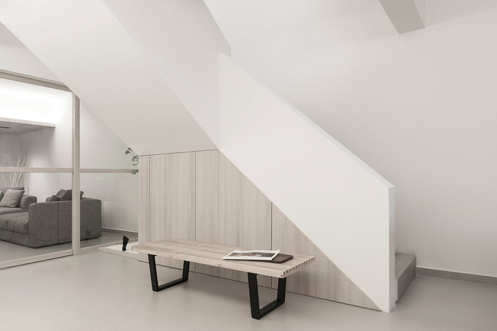 S Apartment designed by Right Angle Studios