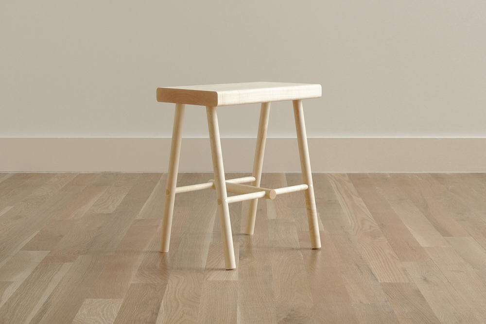 Cottage Stool designed by Dino Sanchez