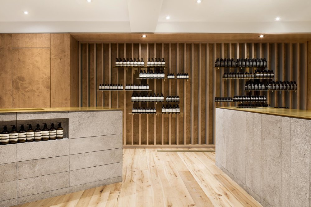 Aesop Mile End designed by Naturehumaine