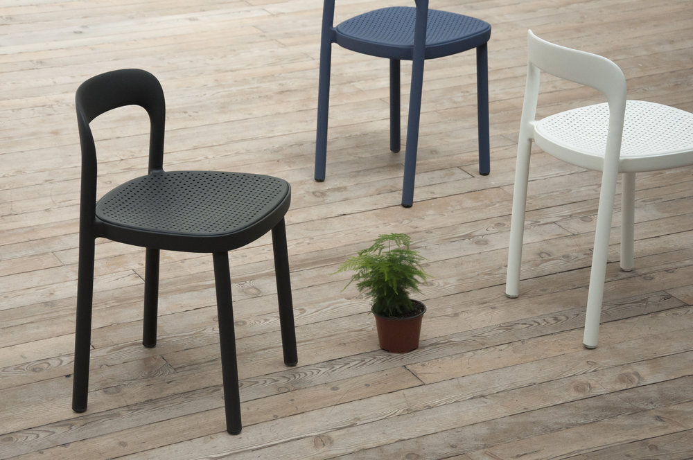 Ebisu chair designed by Jun Yasumoto