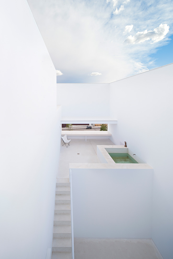 Raumplan House designed by Alberto Campo Baeza