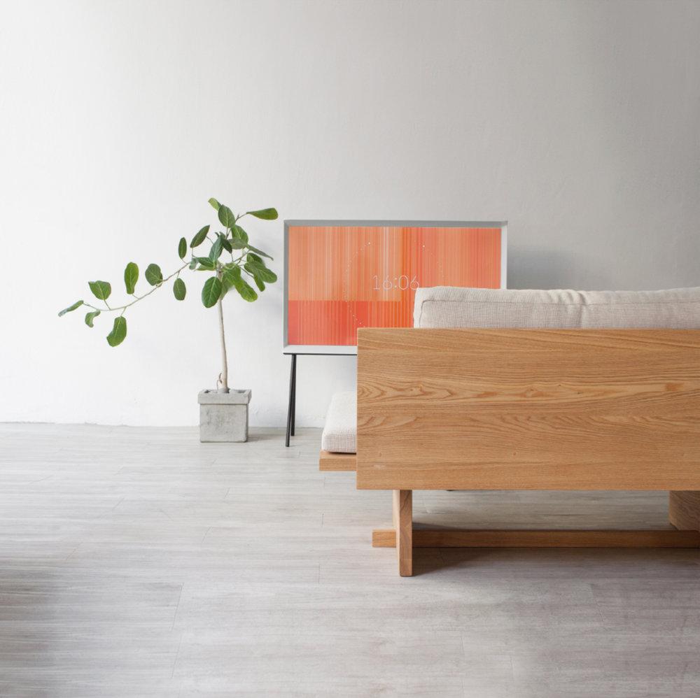 Blank Sofa designed by Hyung Suk Cho