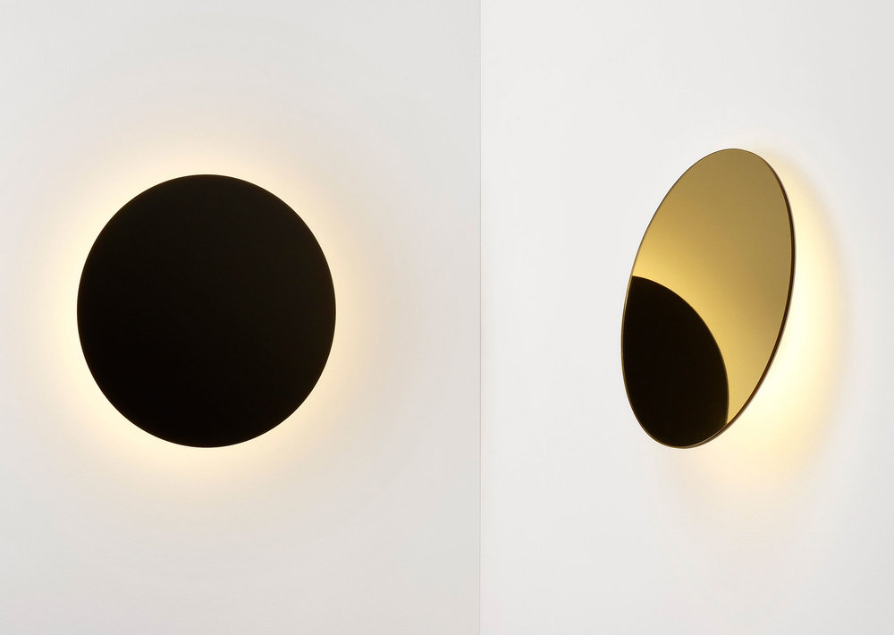 Polar Wall Light designed by Ross Gardam