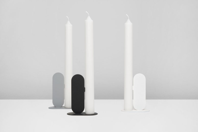 NOSE Candle Holder designed by Quentin de Coster
