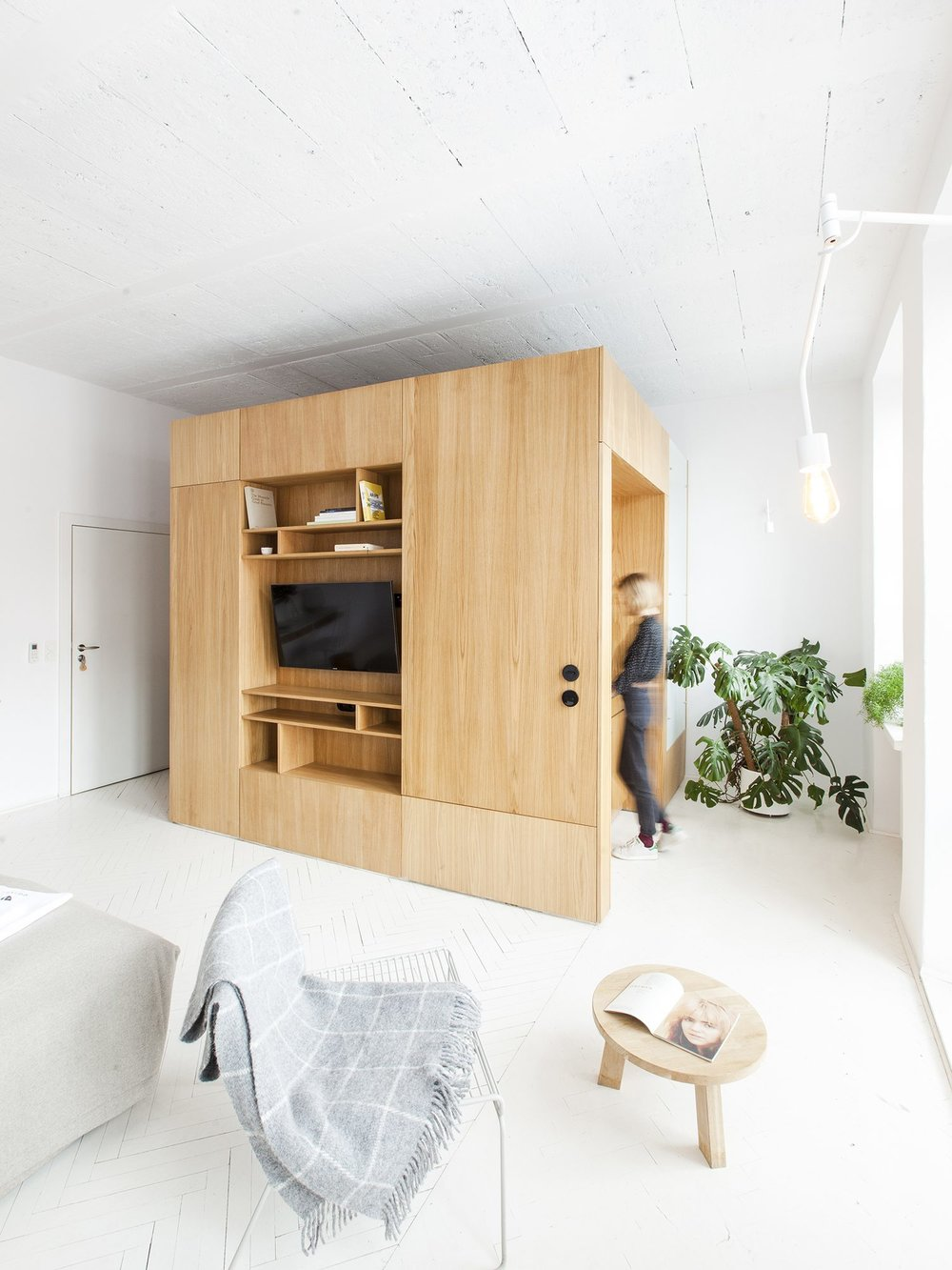 Perła Brewery Apartment designed by Projekt Praga