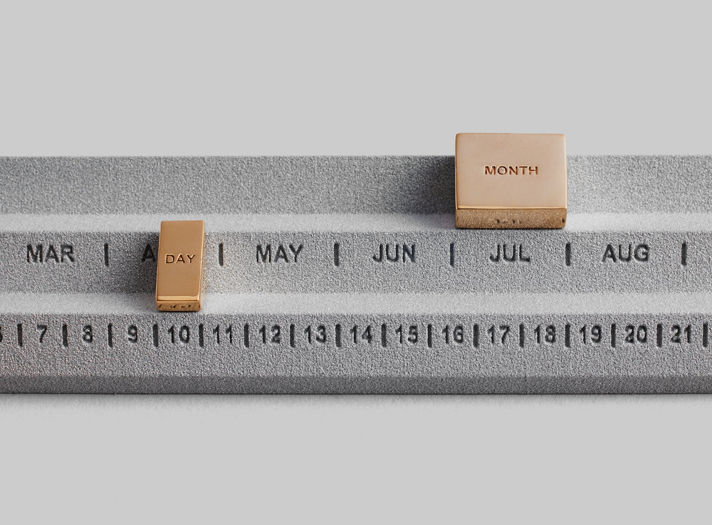 Perpetuum Calendar designed by Yonoh Studio for Othr