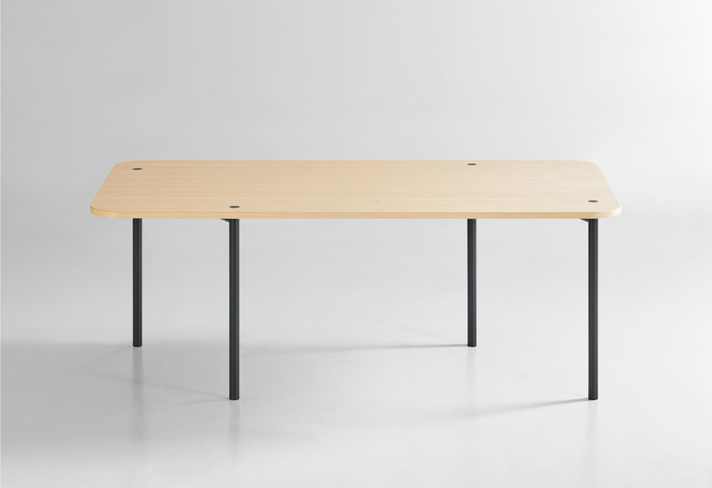 Autobahn Table designed by Trevor Cheney