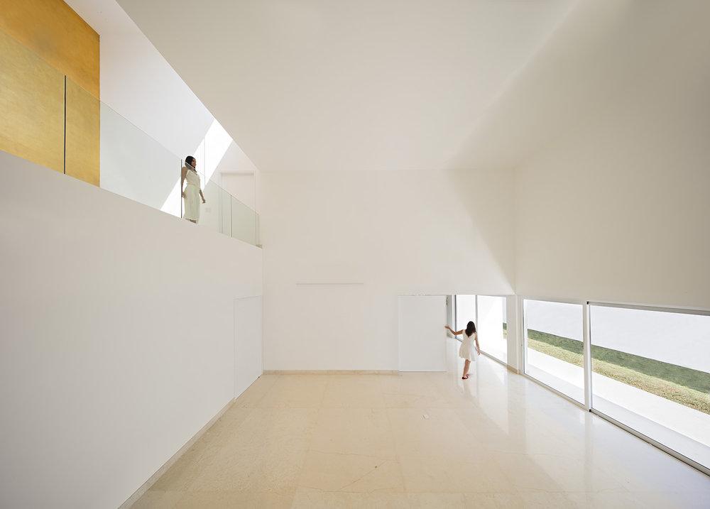 Domus Aurea designed by Alberto Campo Baeza