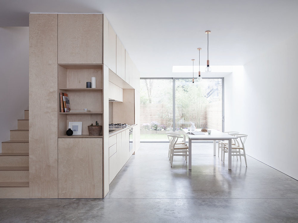 Islington Maisonette designed by Larissa Johnston Architects
