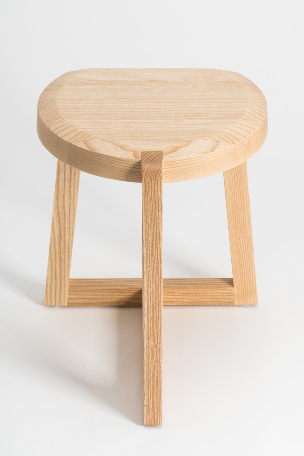 Oyster Stool designed by Geckeler Michels