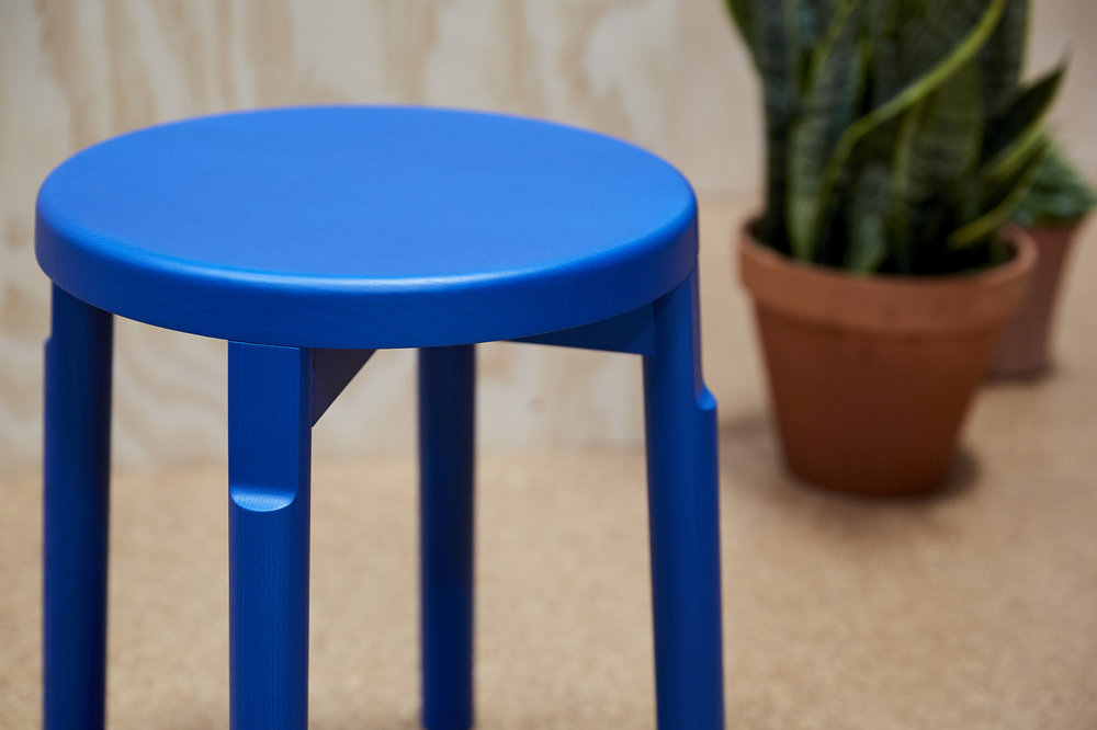 Barn Stool designed by Eric Pfeiffer