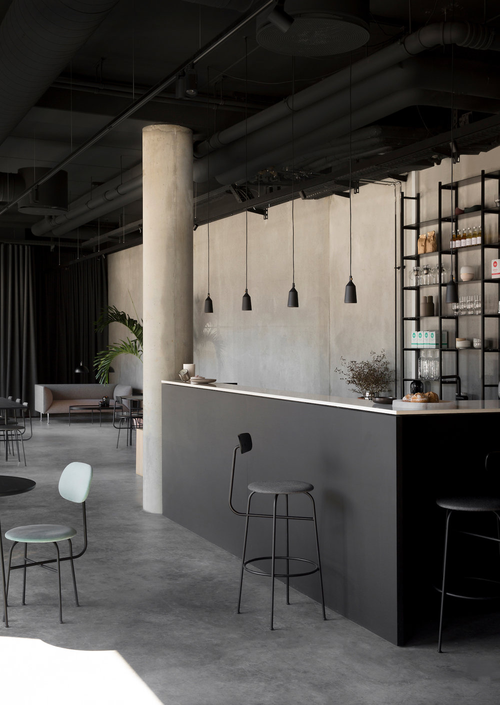 Menu Space designed by Norm Architects
