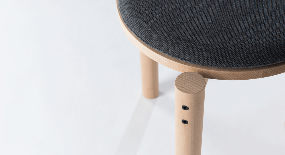 Stackable Stool designed by Sol-State