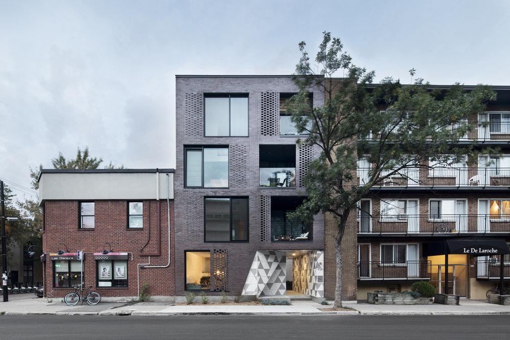 Project Géode designed by ADHOC Architectes