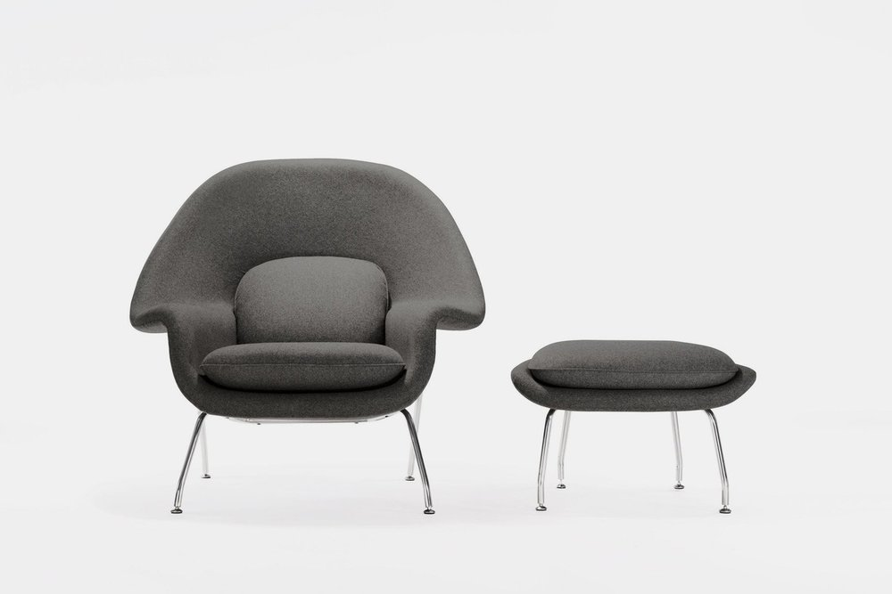Womb Chair designed by Eero Saarinen for Knoll