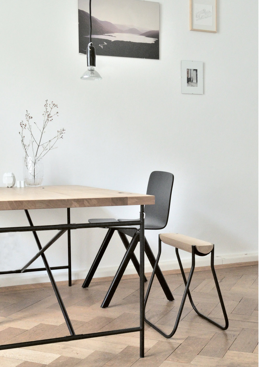 6040 Stool designed by Studio Stephan Schmid
