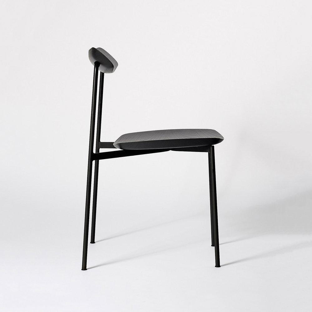 Sia Chair designed by Tom Fereday