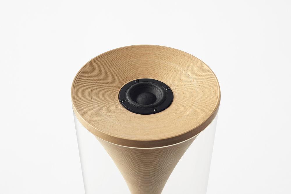 Bunaco Speaker designed by Nendo