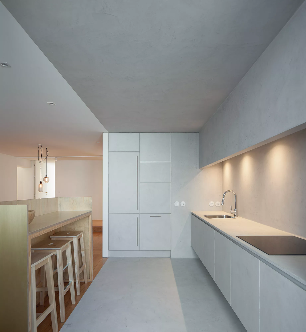 Firmeza Apartment designed by Pablo Pita Architects