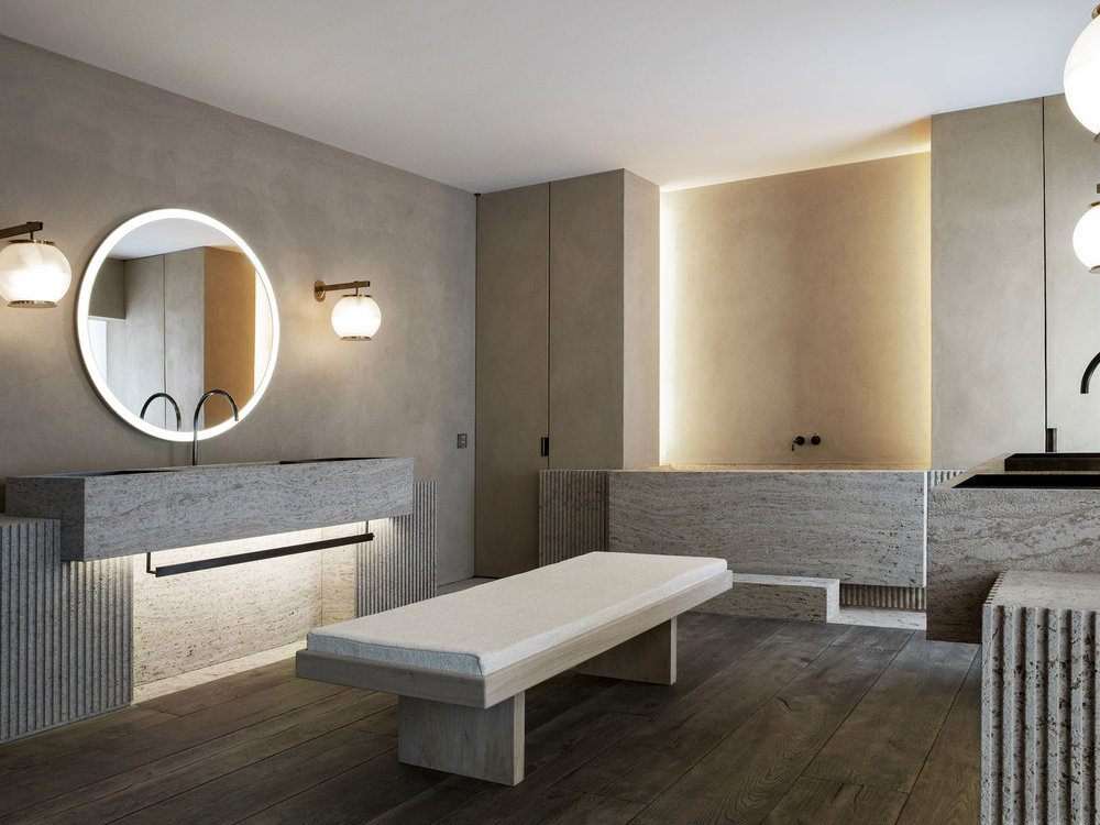 The Bath Salon designed by Nicolas Schuybroek Architects
